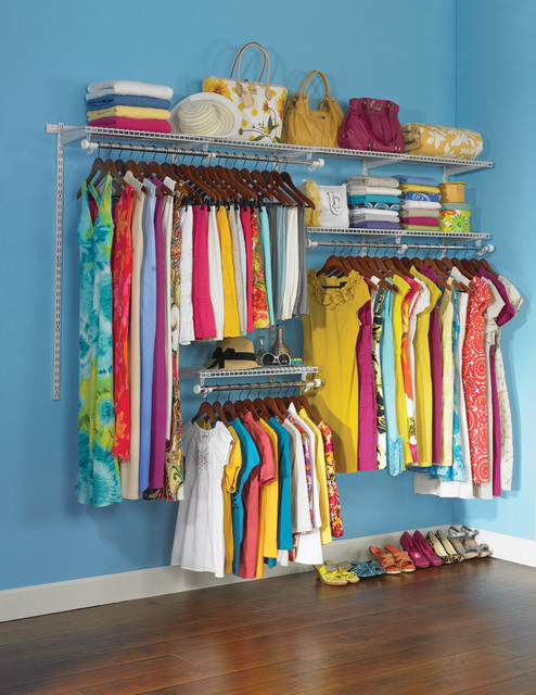 Inspiration For An Eclectic Closet Remodel In Cleveland