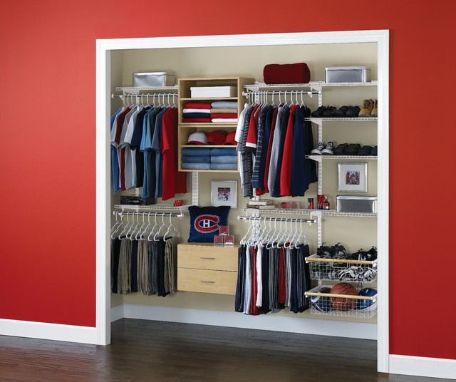 Rubbermaid HomeFree Closet - Eclectic - Closet - by Rubbermaid