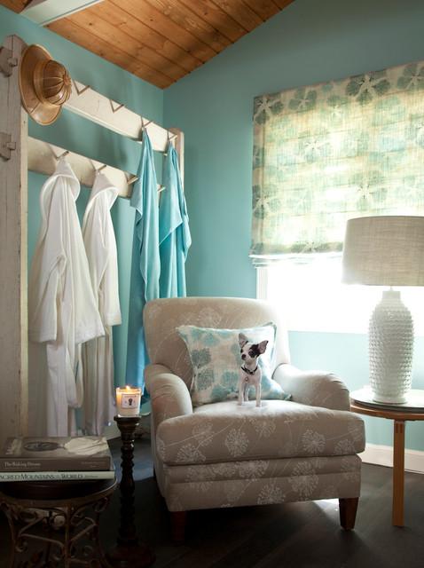 Santa Barbara Design Showhouse Eclectic Closet