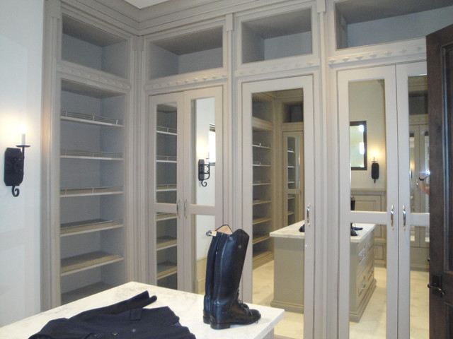 Shady Canyon French Chateau Estate - Mediterranean - Closet - other ...