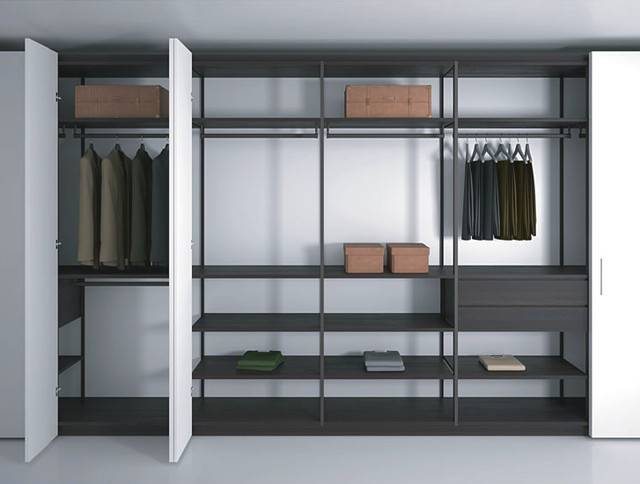 Pleasing Shelving System Modern Wardrobe New York By Aff Usa Inc Interior Design Ideas Tzicisoteloinfo