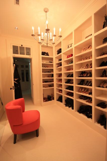 Shingle Style Home contemporary-closet