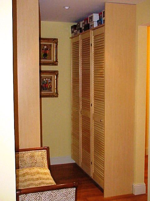 Shoe Cabinet with louvered doors - Contemporary - Storage And Organization - san francisco - by ...