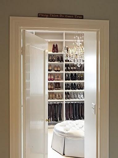 Shoe Closet modern-closet