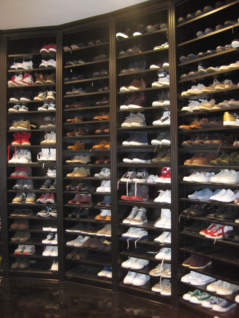 Shoe Storage Traditional Closet New York By