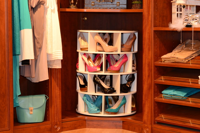 ShoeCase - Shoe Carousel - Traditional - Closet - by April ...