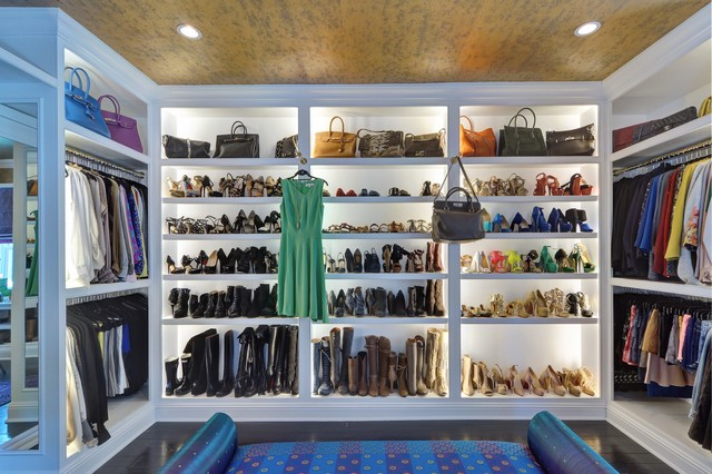 Contemporary Closet by Tracie Butler Interior Design. Turn That Spare Room Into a Walk in Closet