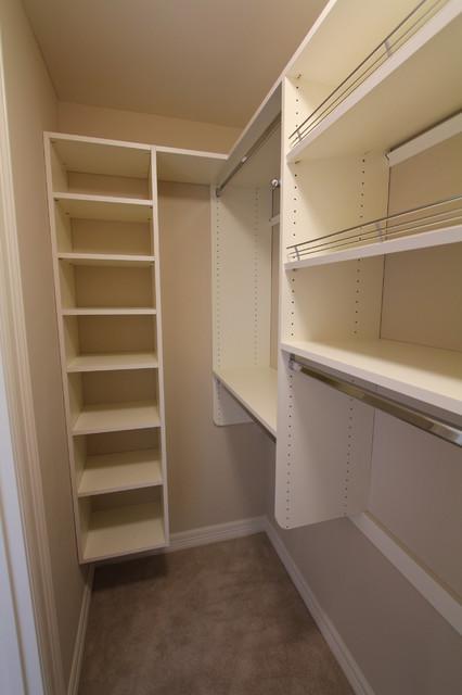 Simple Closets Transitional Wardrobe