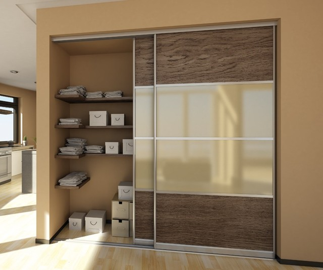 Sliding Doors contemporary-closet & Sliding Doors