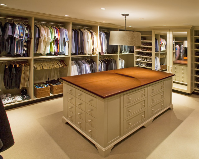 Solebury Residence traditional-closet