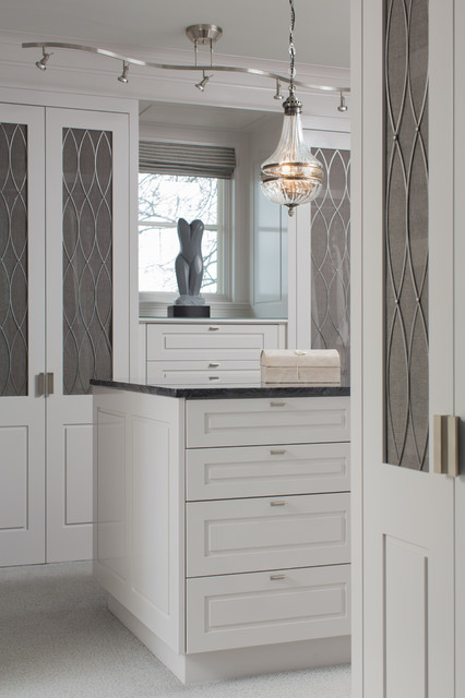 Spa Creek Residence transitional-closet