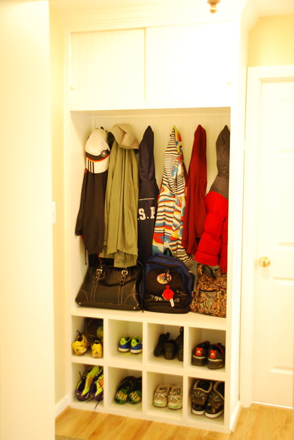 Space saver contemporary closet dc metro by moss - Space saving closet ideas ...
