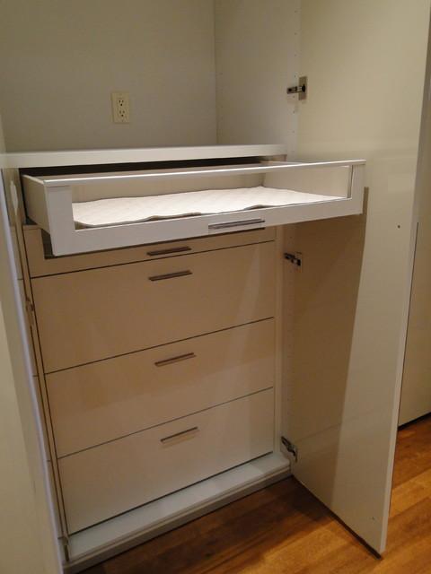 Spaces modern-closet