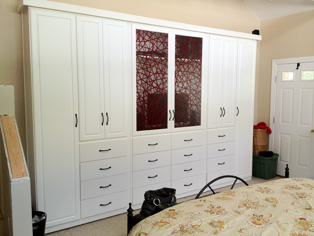 spacious custom bedroom armoire wardrobes contemporary closet