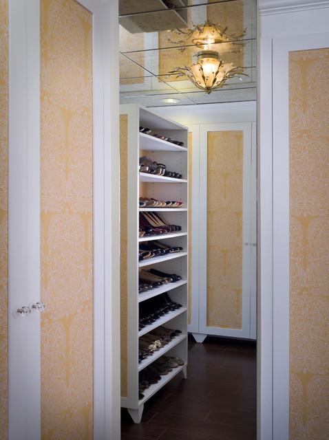 Spanish Revival mediterranean-closet