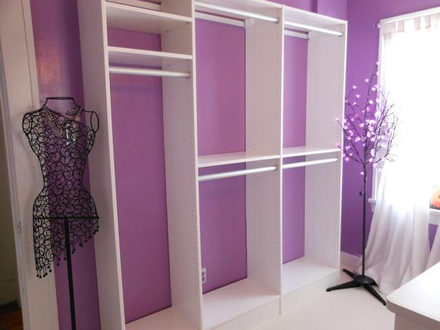 Spare Bedroom Closet Conversion Closet