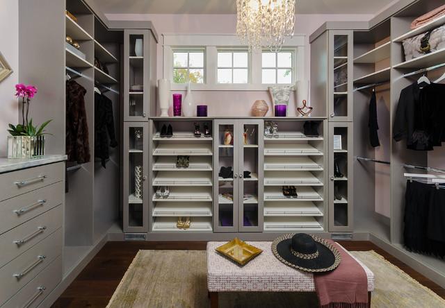 Spectacular Master Bedroom Closets modern-closet