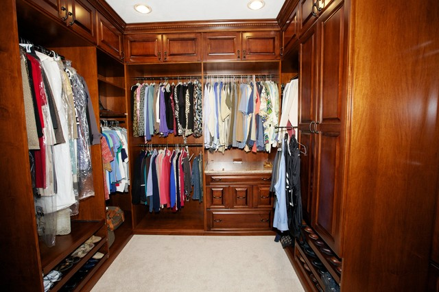 Spectacular Master Closets Traditional Closet