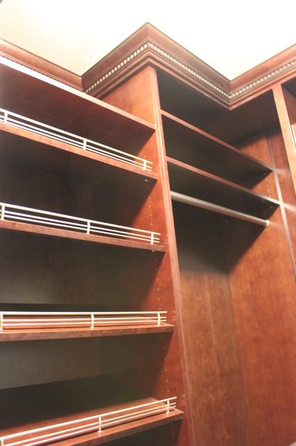 Spectacular Shoe Storage contemporary-closet