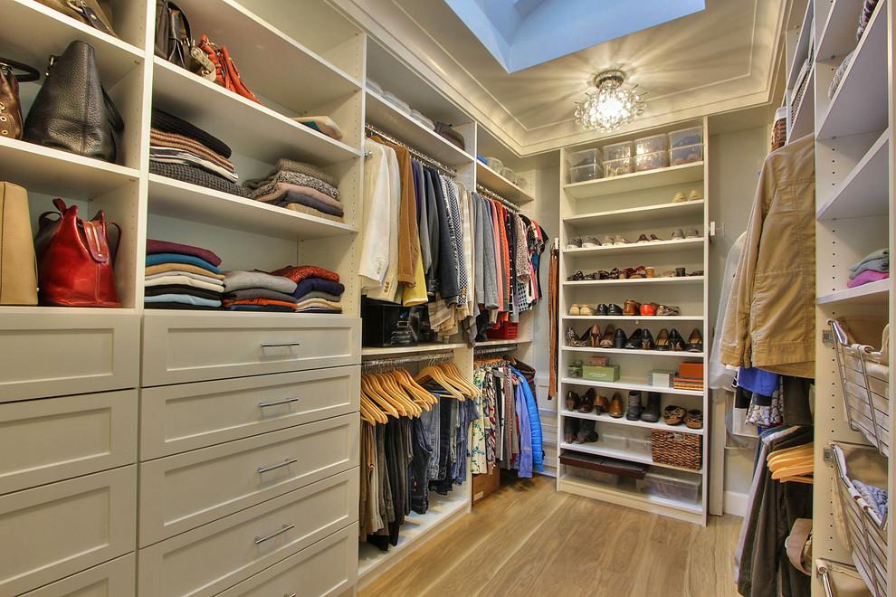 Closet - transitional closet idea in San Francisco