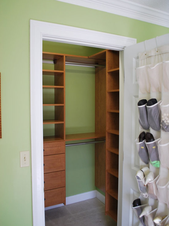 Small closet home design ideas pictures remodel and decor - Wardrobe solutions for small spaces paint ...