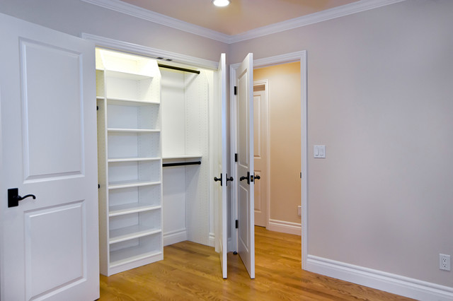 Storage Solutions in Closets and Garage traditional-closet