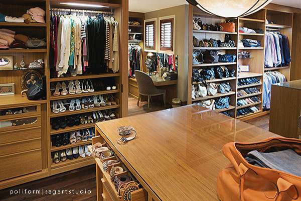 Storage Spaces Contemporary Wardrobe