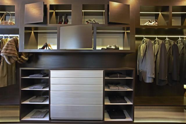 Strause contemporary-closet