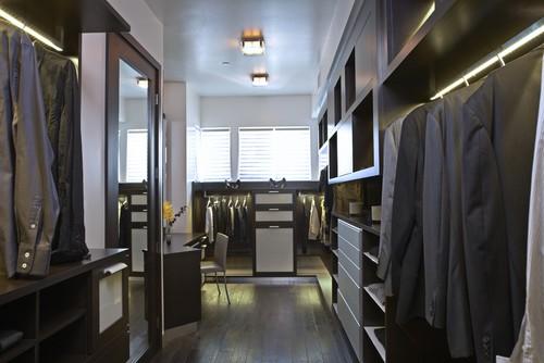 Strause contemporary closet