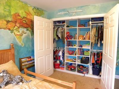 Stylish Spaces :: Kids' Rooms traditional-closet