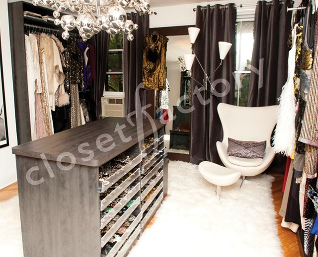 Stylists Closet contemporary closet