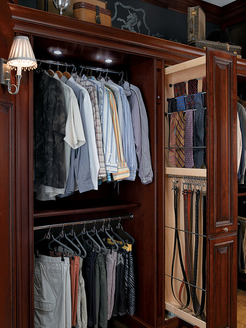 Marvelous Tall Pull Out Wardrobe Tower Traditional Closet