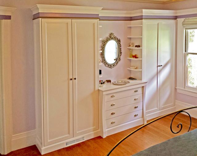 Attractive Built In Closet Part - 11: Tana Custom Built-in Closet In San Francisco Victorian-wardrobe