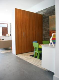 Teak Ikea Closete Modern Closet Los Angeles By