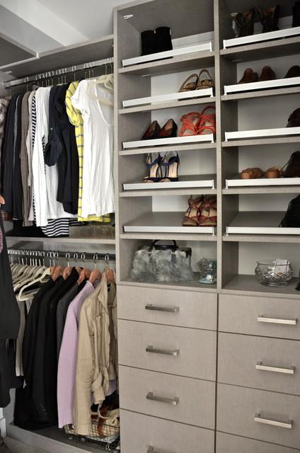 TESORO CORSICAN WEAVE WALK IN CLOSET   OCTOBER 2012 Contemporary Closet