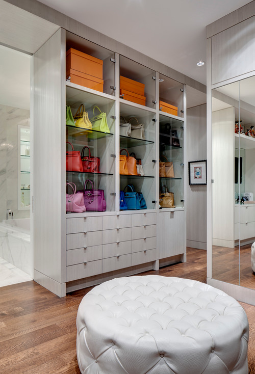 How To Turn A Walk In Closet Into A Glamorous Dressing Room
