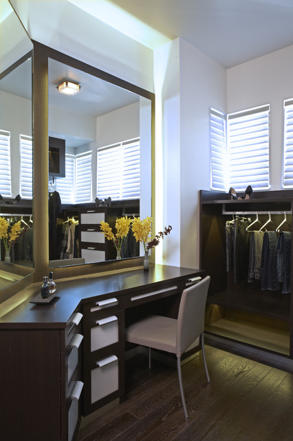 The Boutique Closet - Playa Vista, CA Residence contemporary closet