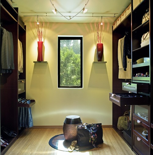 The Chuda Green House - Hollywood, CA Residence contemporary closet
