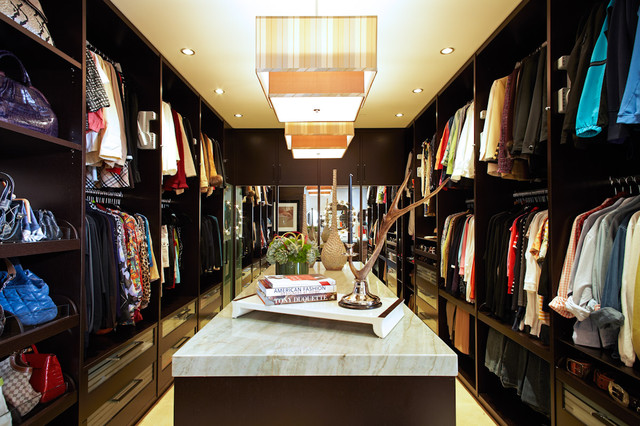 the dressing room closet - contemporary - closet - los angeles