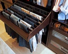The Dressing Room Closet contemporary-closet