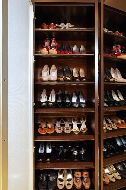 The Dressing Room Closet Contemporary Closet Los