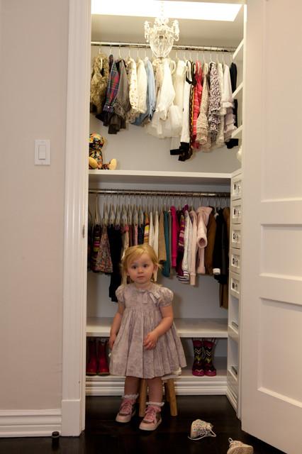 The girl 39 s white closet for Closet design los angeles