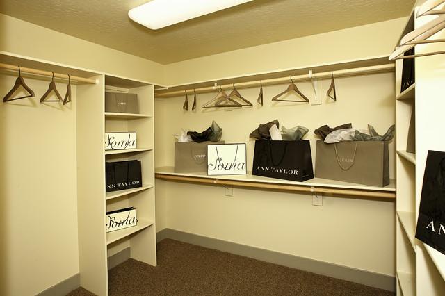 The Horizon traditional-closet