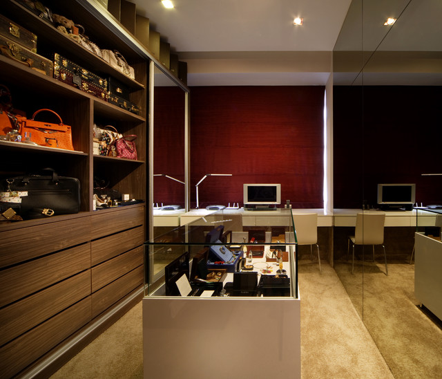 The Metz - Contemporary - Closet - Singapore - by The Interior Place ...