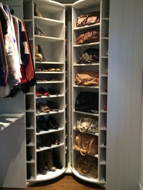 The Revolving Closet Organizer   A Must Have In Every Closet Modern Closet
