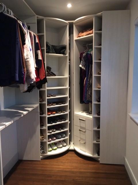 Rotating Closet Rack Home Decor