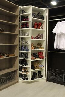 The Revolving Closet Organizer - Manually Rotates 360 degree modern-closet