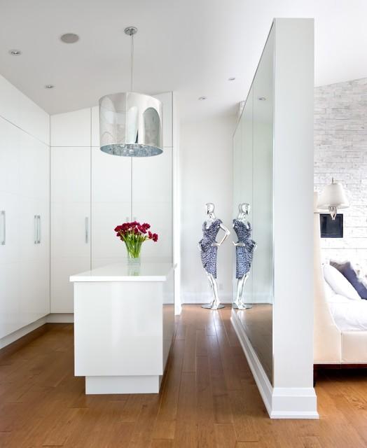 The Sentinele House transitional-closet