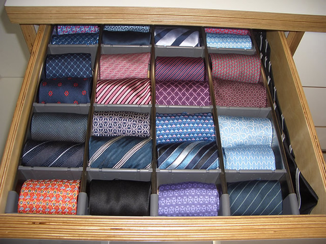 Tie Drawer - Modern - Closet - san francisco - by Case & Space