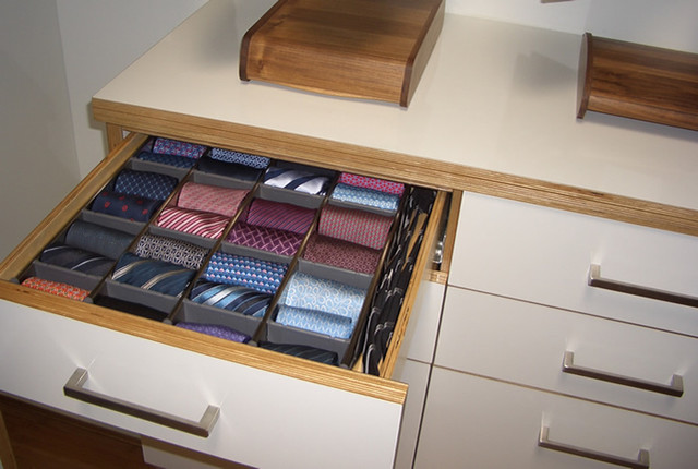 Tie Drawer modern-closet & Tie Drawer - Modern - Closet - San Francisco - by Case u0026 Space